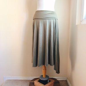 Nordstrom Caslon Asymmetrical Jersey Skirt